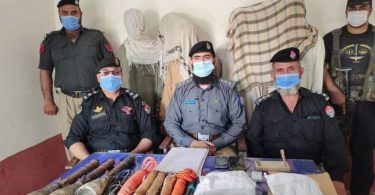 Terrorist plot foiled in Khwaja Was area