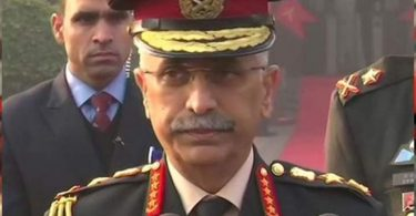 The Indian Army Chief accepted Pakistan's position