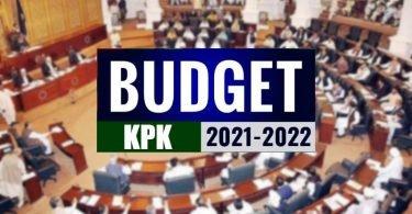 KPK provincial budget 2021-22